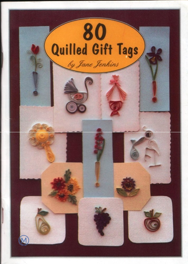 80 Quilled Gift Tags